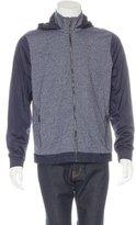 Michael Kors Hooded Nylon-Trimmed Jacket