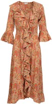 At Last... Felicity Dress- Hot Paisley