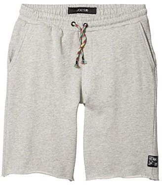 Joe's Jeans Knit Pull-On Shorts (Big Kids) (Heather Grey) Boy's Shorts