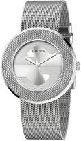Gucci Women's U-Play YA129407 Stainless-Steel Swiss Quartz Watch