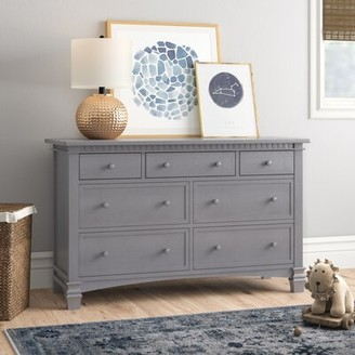 Three Posts Conyers 7 Drawer Dresser Color: Storm Gray