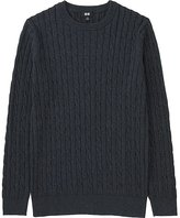 Uniqlo Men Cable Crewneck Sweater