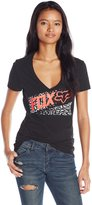 Fox Junior's Standby V Neck Fitted Graphic Tee