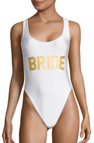 Private Party Bride One Piece Swimsuit