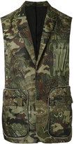 Givenchy camouflage printed gilet - men - Polyamide/Viscose/Polyester - 48
