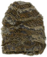Hat Attack Women's Stretch 100% Rabbit Slouchy Beanie