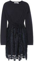 See by Chloe Cotton lace minidress