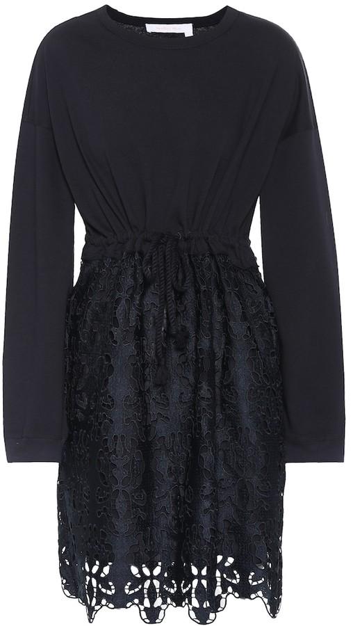3ea6d15d8a Cotton lace minidress