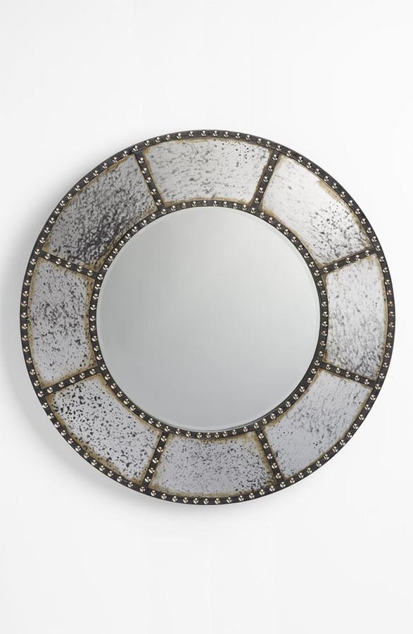 Three Hands Studded Mirror