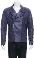 Roberto Cavalli Leather Moto Jacket