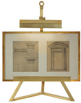 Estelle Display Lamp - Natural Brass - Visual Comfort