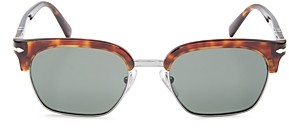 Persol Men's Clubmaster Polarized Square Sunglasses, 53mm