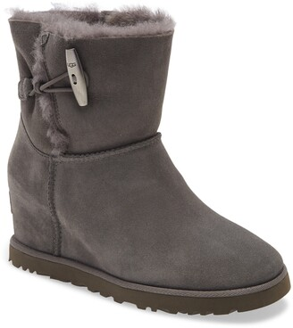 UGG Classic Femme Toggle Wedge Boot