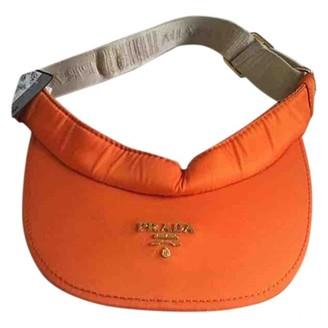 Prada Orange Polyester Hats