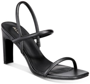 Aldo Women's Karla Square-Toe Barely There Dress Sandals Women's Shoes