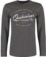 Quiksilver Long Sleeved Top Charcoal Heather