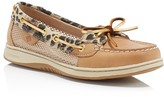 Sperry Angelfish Leopard Mesh Boat Shoes
