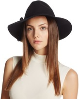 Bettina Wide Brim Wool Fedora