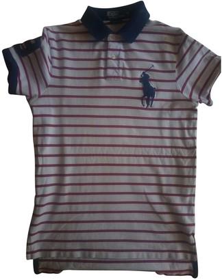 Polo Ralph Lauren Polo Rugby manches courtes White Cotton Polo shirts