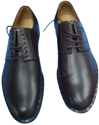 Louis Vuitton Brown Leather Lace ups