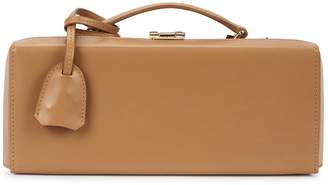 Mark Cross Grace Lungo Camel Leather Box Bag