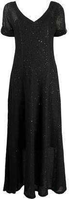 Brunello Cucinelli Sequin-Embellished Flared Midi Dress