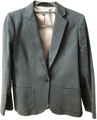 Bonpoint Blue Cotton Jacket for Women