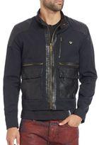 True Religion Mixed-Media Moto Jacket