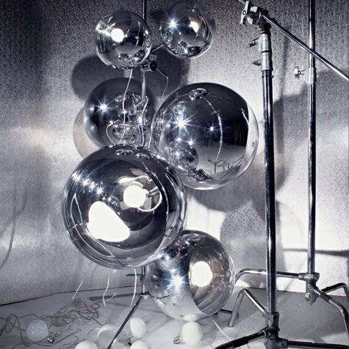 Tom Dixon Mirror Ball Tripod Stand