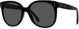 Celine Men's Round Acetate Sunglasses