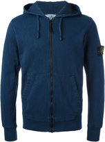 Stone Island zipped hoodie - men - Cotton - M