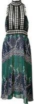Yigal Azrouel Ivy Trellis jabot dress - women - Polyester/Spandex/Elastane - 0