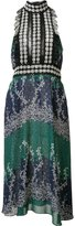 Yigal Azrouel Ivy Trellis jabot dress