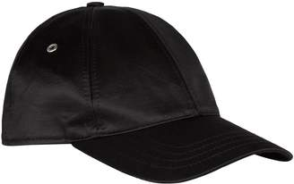 Ami Paris Satin Baseball Cap