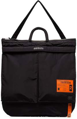 Neighborhood x Porter padded tote bag