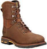 "Ariat Men's Workhog 8"" Square Toe H2O Composite Toe Work Boot"