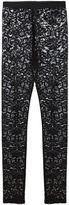 Antonio Marras floral lace leggings - women - Viscose/Polyimide - 40