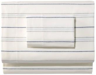 L.L. Bean Organic Flannel Sheet Collection, Stripe