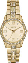 JCPenney FASHION WATCHES Womens Crystal-Accent Bracelet Watch