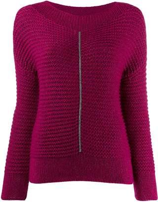Fabiana Filippi long-sleeve fitted sweater