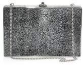 Judith Leiber Couture Ridged Rectangle Stingray Clutch