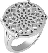 Links of London Timeless sterling silver coin ring- size P