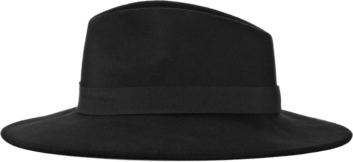 Reiss Ava WIDE BRIM TRILBY HAT