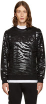 Kenzo Black Tiger Stripes Pullover