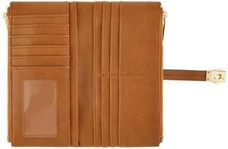 Accessorize Flip Lock Wallet - Tan