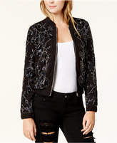 Endless Rose Embellished Bomber Jacket