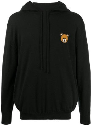 Moschino Teddy Bear Knitted Hoodie