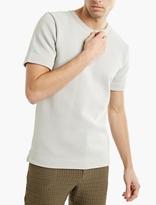 S.n.s. Herning Grey Zip-neck T-shirt
