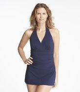 L.L. Bean Slimming Swimwear, Clasp Halter Dress