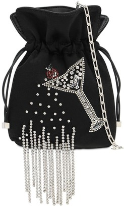 Les Petits Joueurs Nanotrilly Embellished Cocktail Clutch
